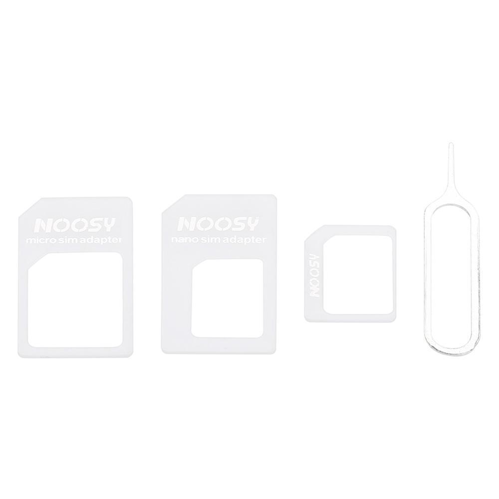 NOOSY 3 in 1 Nano SIM to Micro SIM / Standard SIM Card Adaptor