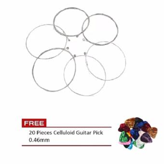 1 Set of Stainless Steel Electric Guitar String