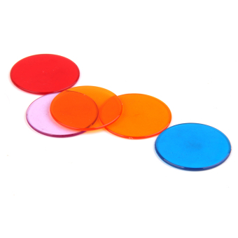 120pcs PRO Count Bingo Chips Markers for Bingo Game Cards 3cm 6 Colors - picture 2
