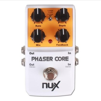 2017 NEW NUX Phaser Core 4 - stage and Tape 8-stage Core Series Guitar Effect Pedal True Bypass - intl