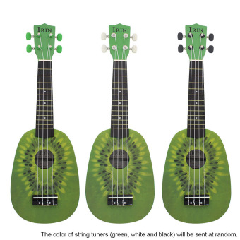 """21"""" Ukelele 4 Strings Cute Kiwi Basswood Stringed Musical Instrument (Intl) - picture 2"""