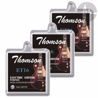3 Packs Thomson Electric Guitar Strings Super Light Package