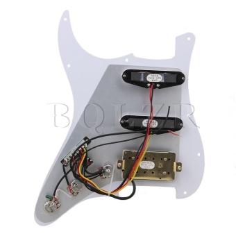 3-Ply SSH Pickguard Pickup for Electric Guitar Black White ZebraColor - intl - 2
