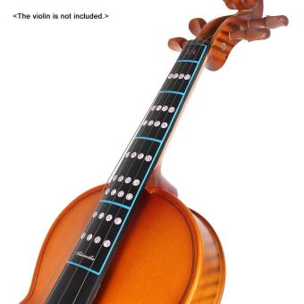 3/4 Violin Fiddle Finger Guide Fingerboard Sticker Label IntonationChart Fretboard Marker for Practice Beginners Outdoorfree - intl