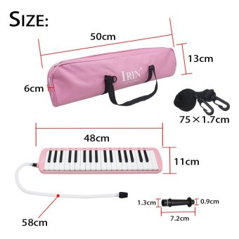 37 Piano Keys Melodica Pianica Musical Instrument with Carrying Bagfor Students Beginners Kids - 3
