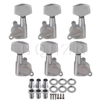 3L3R Guitar Tuning Pegs Tuners Machine Heads Chrome