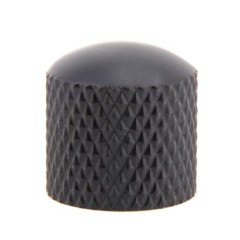 4pcs Guitar Bass Dome Tone Knobs for Electric Guitar Volume CotrolKnobs (Black) - intl - 5