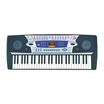 54 Keys Mk-2063 Piano Electronic Keyboard (Black)