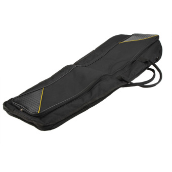 600D Water-resistant Trombone Gig Bag Oxford Cloth BackpackAdjustable Shoulder Straps Pocket 5mm Cotton Padded for Alto/TenorTrombone