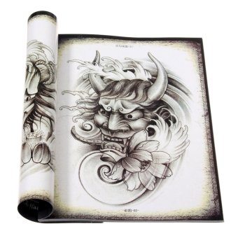 70 PagesTraditional Chinese Tattoo Manuscripts Flash Design Sketch Art Book