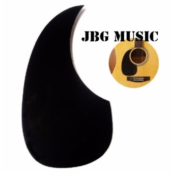 Acoustic Guitar Celluloid Pickguard Scratch Plate Pick Guards BlackWater-Drop