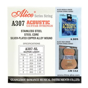 Alice Guitar String (Silver)