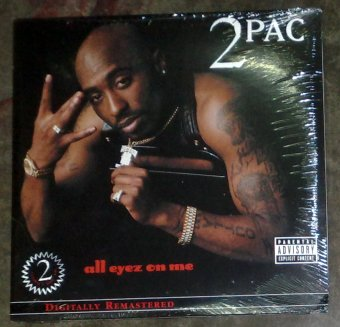 All Eyez On Me by 2Pac Vinyl LP Price Philippines