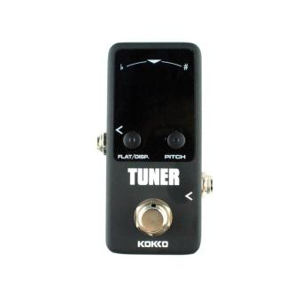 Allwin Pedal Tuner Guitar Bass Violin Stringed Instruments TunerEffect Device - intl
