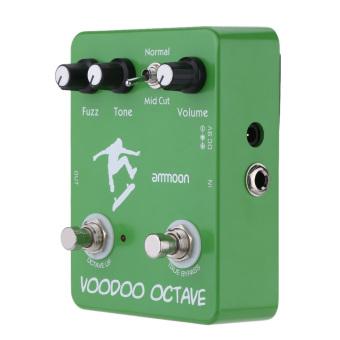 ammoon AP-12 Voodoo Octave Fuzz Effect Guitar Effect Pedal True Bypass - 2