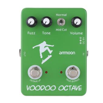 ammoon AP-12 Voodoo Octave Fuzz Effect Guitar Effect Pedal True Bypass - 5