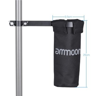 ammoon Drum Stick Holder Drumstick Bag 600D with Aluminum Alloy Clamp for Drum Stand Outdoorfree - intl - 4