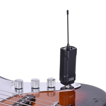 ammoon Portable Wireless Audio Transmitter Receiver System for Electric Guitar Bass Electric Violin Musical Instrument - intl - 3