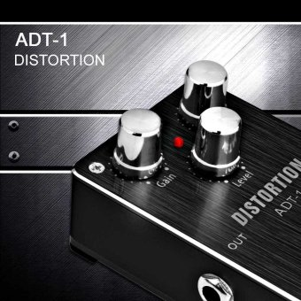 Aroma ADT-1 Distortion Electric Guitar Effect Pedal Aluminum Alloy Housing True Bypass