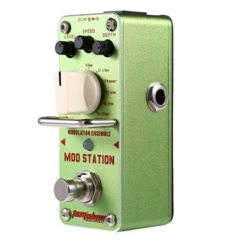AROMA AMS - 3 Mod Station Classic Modulation Ensemble True Bypass Electric Guitar Effect Pedal