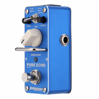 AROMA APE-3 Pure Echo Digital Delay Electric Guitar Effect Pedal Mini Single Effect with True Bypass