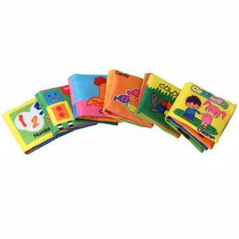 Baby Soft Squeaky Cloth Book (Number) - 2
