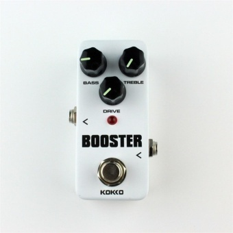 Beau Fbs-2 Mini Overdrive Guitar Effect Pedal Guitar Two Segment Eq Effect Device White - intl