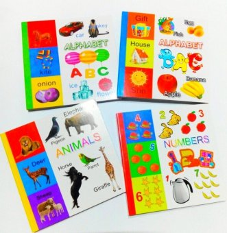 Beginners Alphabet with Animals Book Bundle and Numbers Book