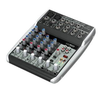Behringer Xenyx Q802USB USB Audio Mixer (Black)