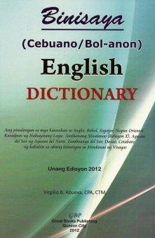Binisaya (Cebuano/Bol-anon) - English Dictionary
