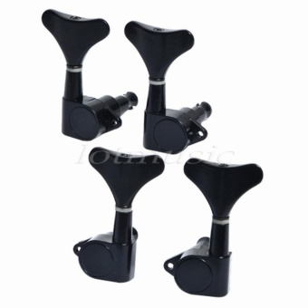black Sealed Bass Tuners 2R+2L replacement for Ibanez BLACK SealedBASS TUNERS TUNING PEGS SET 4 (2L+2R) - intl Price Philippines
