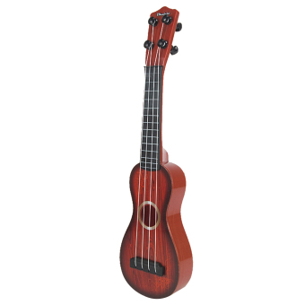 BolehDeals 4 Strings Musical Plastic Toy Ukulele Small Guitar For Beginners Kids Child - intl
