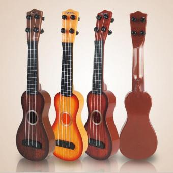 BolehDeals 4 Strings Musical Plastic Toy Ukulele Small Guitar For Beginners Kids Child - intl - 5