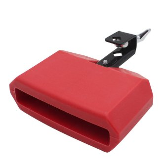 BolehDeals Low Pitched Durable Plastic Cow Bell Percussion Instruments Red Price Philippines