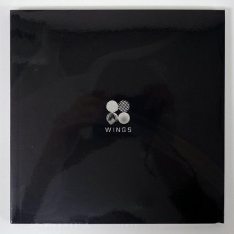 BTS BANGTAN BOYS - WINGS (Vol.2) [I version]CD+Photobook+Photocard+Folded Poster+Extra Photocards Set