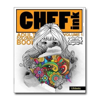 Chef Ink Adult Coloring Book Vol 1