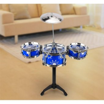 Philippines | Children Kids Small Jazz Drum Set Toy Gift Puzzle EarlyIntelligence Educational Percussion Musical Instrument Playset(Blue) - intl Best Budget ... & Philippines | Children Kids Small Jazz Drum Set Toy Gift Puzzle ...