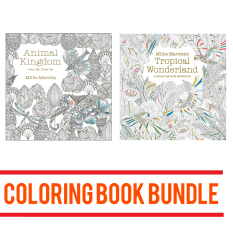 Colouring Book Adventures By Millie Marotta Animal Kingdom And Tropical Wonderland