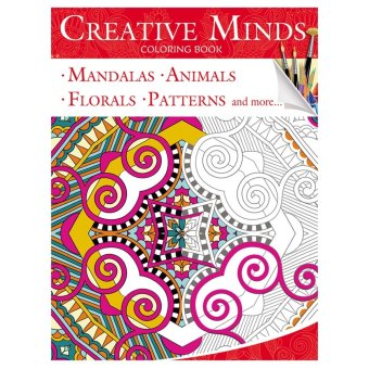 Creative Minds Coloring Books For Adults 1