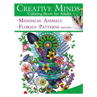 Creative Minds Coloring Books For Adults 10