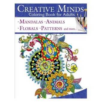 Creative Minds Coloring Books For Adults 11