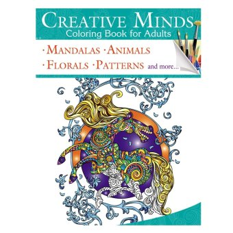 Creative Minds Coloring Books For Adults 5 Price Philippines
