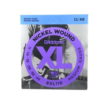 D'addario Electric Guitar String Set EXL115 Medium Gauge