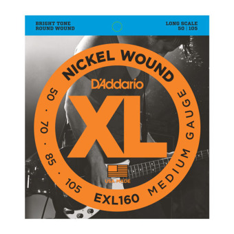 D'Addario EXL160 Medium 50-105 Nickel Wound String Bass