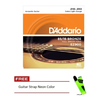 D'Addario EZ900 85/15 Bronze .010-.050 Acoustic Guitar Strings