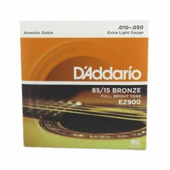 D'addario EZ900 Acoustic Guitar Strings Set Extra light Gauge.010-.050