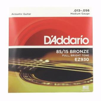 D'addario EZ930 Acoustic Guitar Strings Set Medium Gauge(.013-.056)