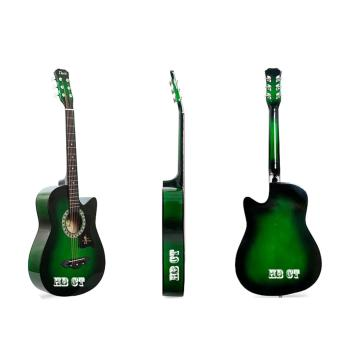 Davis Acoustic Guitar JG-38 Best Deals (Green)