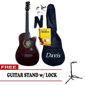 Davis Acoustic Guitar Starter Package (Brown)