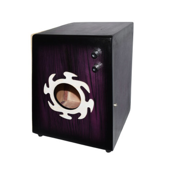 Davis Beat Box Cajon with Pickup With Bag (Violet)